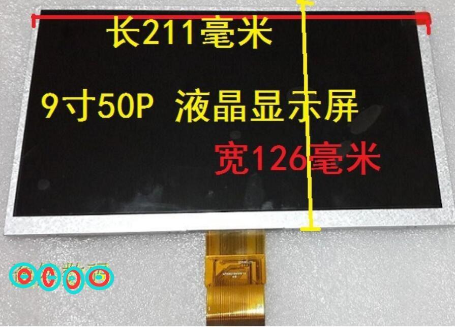 9inch  tablet blue shades m9 n9 m92 lcd screen calendar mf0901595001a
