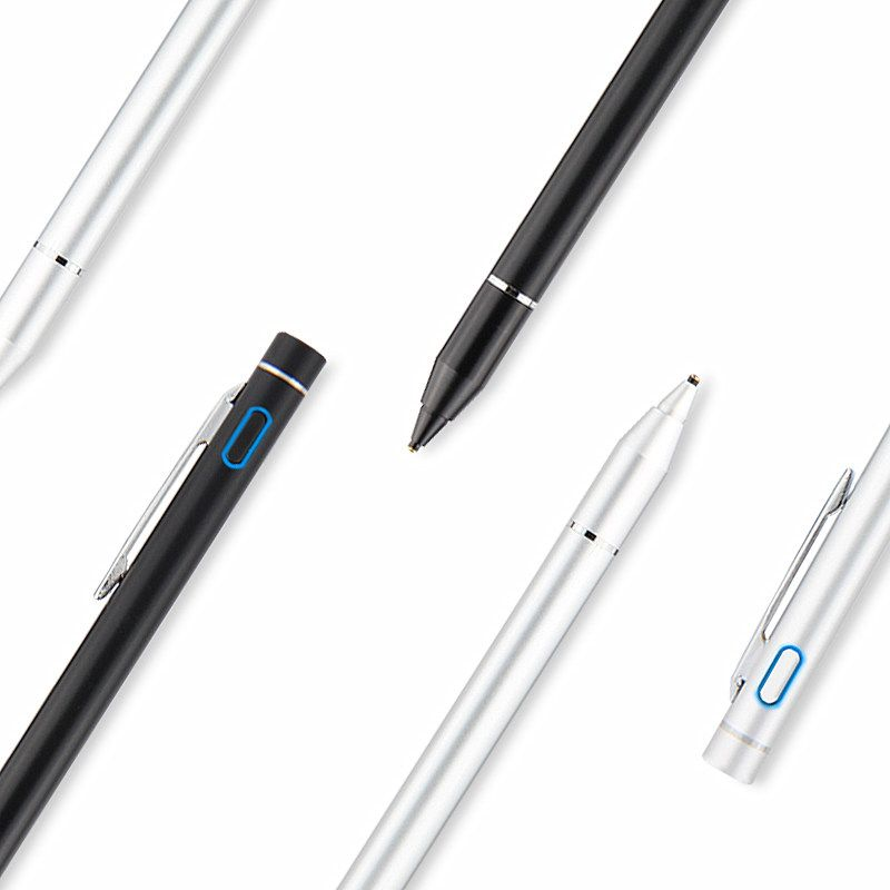 Aktive Stylus Kapazitiven Touchscreen Für Samsung Galaxy Tab S3 S2 S4 8 9,7 10,1 10,5 A S E 9,6 8,0 7 Tablet Fall NIB 1,35mm