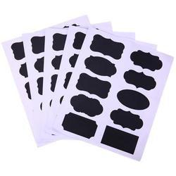 50 шт./компл. меловая доска Стикеры для доски Ремесло кухня банка наклейки для надписей стекло окна этикетки для досок канцелярские товары оф...