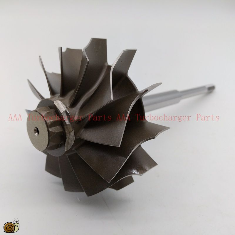 HX55 short shaft Turbocharger Turbine wheel 77x86mm-12blades,Turbo parts supplier by AAA Turbocharger Parts