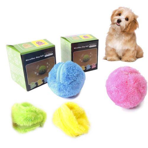 Nouveau jouet à la mode pratique de boule de rouleau magique non toxique sûr automatique boule de rouleau boule magique chien chat Pet jouet interactif