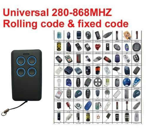 2017 new Auto scan frequency Universal remote control duplicator Multi frequency copy 280-868mhz