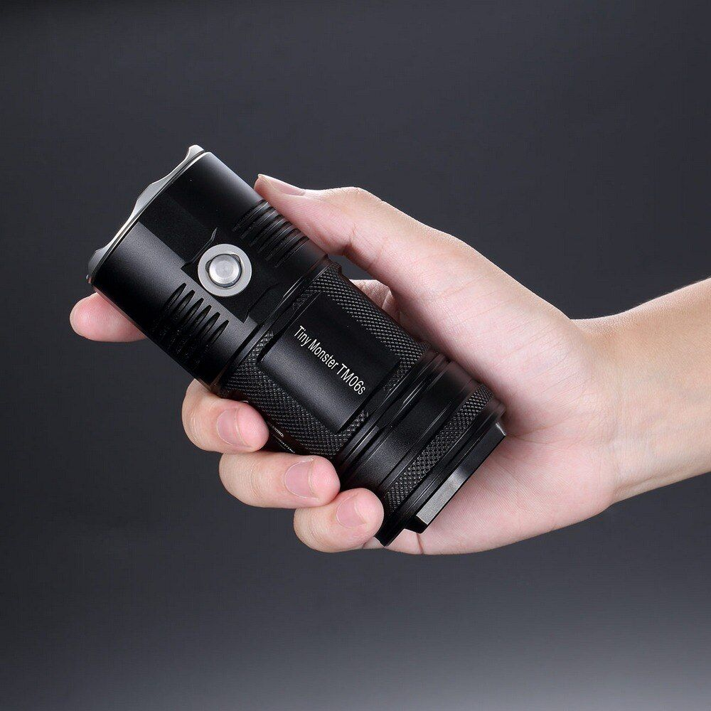 SALE! NITECORE 4000Lm TM06S CREE XM-L2 U3 LED Led Flashlight Waterproof without 18650 Torch Outdoor Camping Search Free Shipping