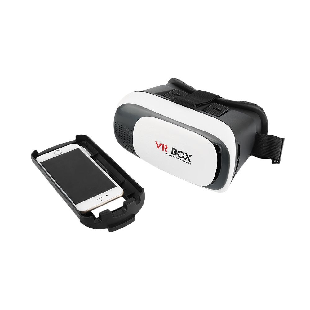HOT Selling 3D Virtual Reality 3D Glasses VR Box Cardboard Movie Game for 3.5-6.0 inche smartphone