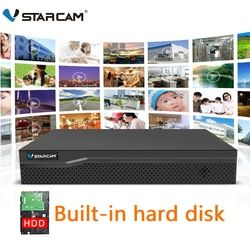 VStarcam 1080P NVR With HDD 4CH 8CH Network Video Recorder Resolution 1920x1080 Onvif 2.4 Best for Vstarcam Wifi IP Camera