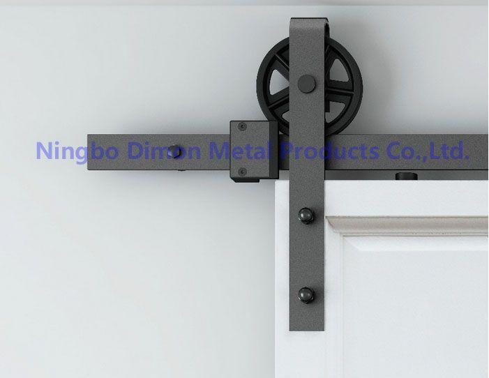 Livraison gratuite Dimon roue suspendue diamètre 120mm style américain vente chaude beau modèle porte coulissante matériel DM-SDU 7210