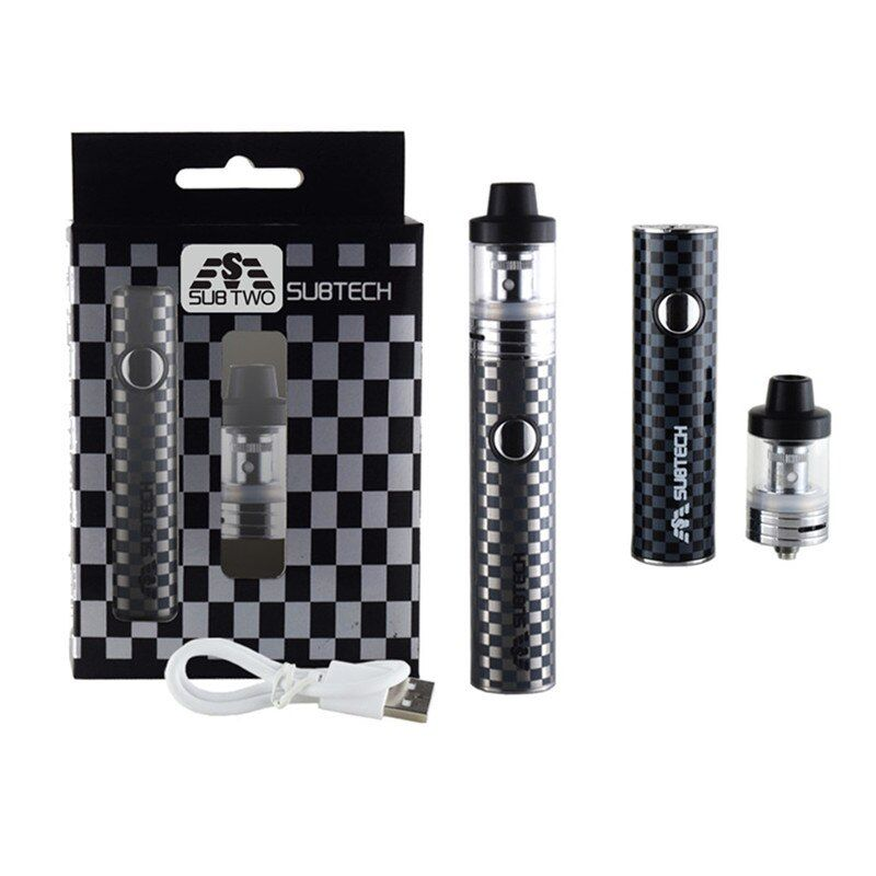 S22 kit 60 W stylo vaporisateur 1800 mah batterie avec 2.5 ml atomiseur 0.3/0.5 ohm réservoir cigarette électronique kit vaporisateur mod e-cigarettes