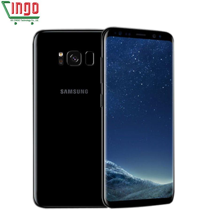 Original Unlocked Samsung Galaxy S8 Plus 4G LTE Mobile Phone 64G ROM 4G RAM 6.2