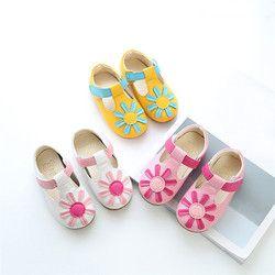 TELOTUNY niñas niños niñas Floral antideslizante Sneaker cuero princesa zapatos solo Casual para niña V1156