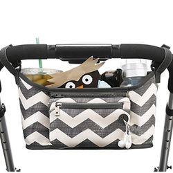 Historieta del bebé cochecito organizador bolsa de gran capacidad pañal bolsa impermeable Bebe Carriage almacenamiento bolsa para cochecito Accesorios