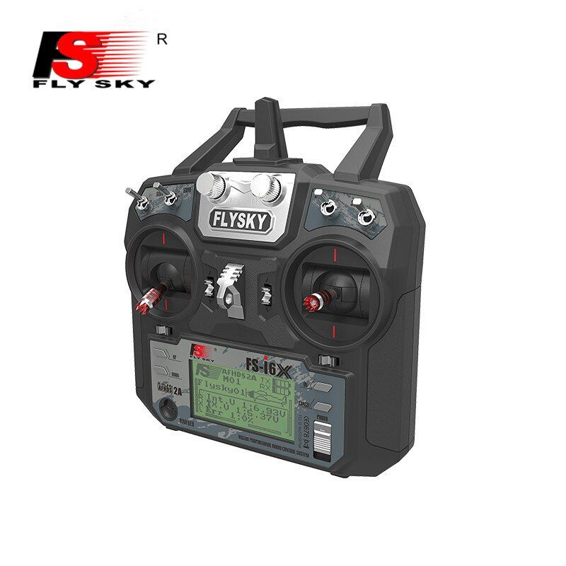 Flysky FS-i6X 2.4G 10CH AFHDS 2A Transmitter&Receiver Remote Control for RC Helicopter Airplane