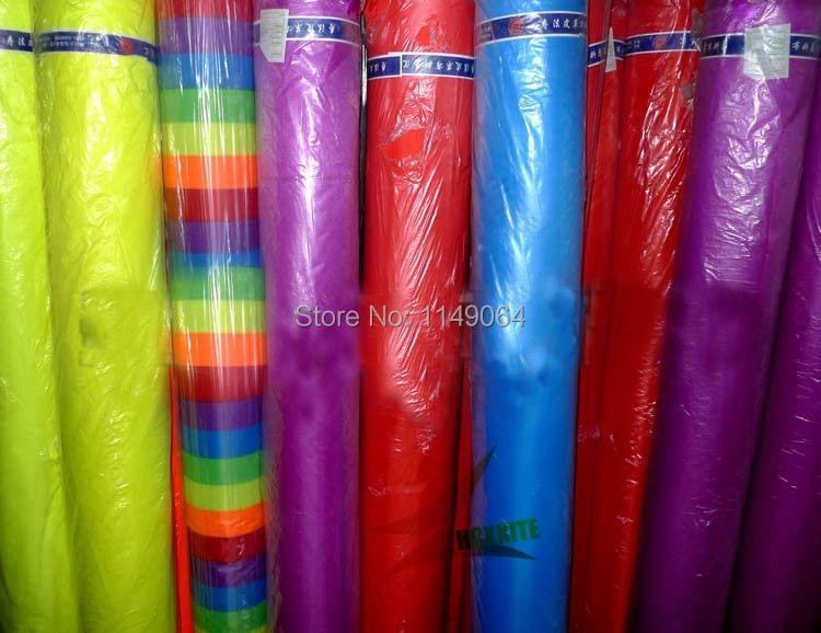 Livraison gratuite de haute qualité 10 m x 1.5 m ripstop nylon tissu différentes couleurs choisissent 400 polegada x 60po kite tissu ripstop hcxkites
