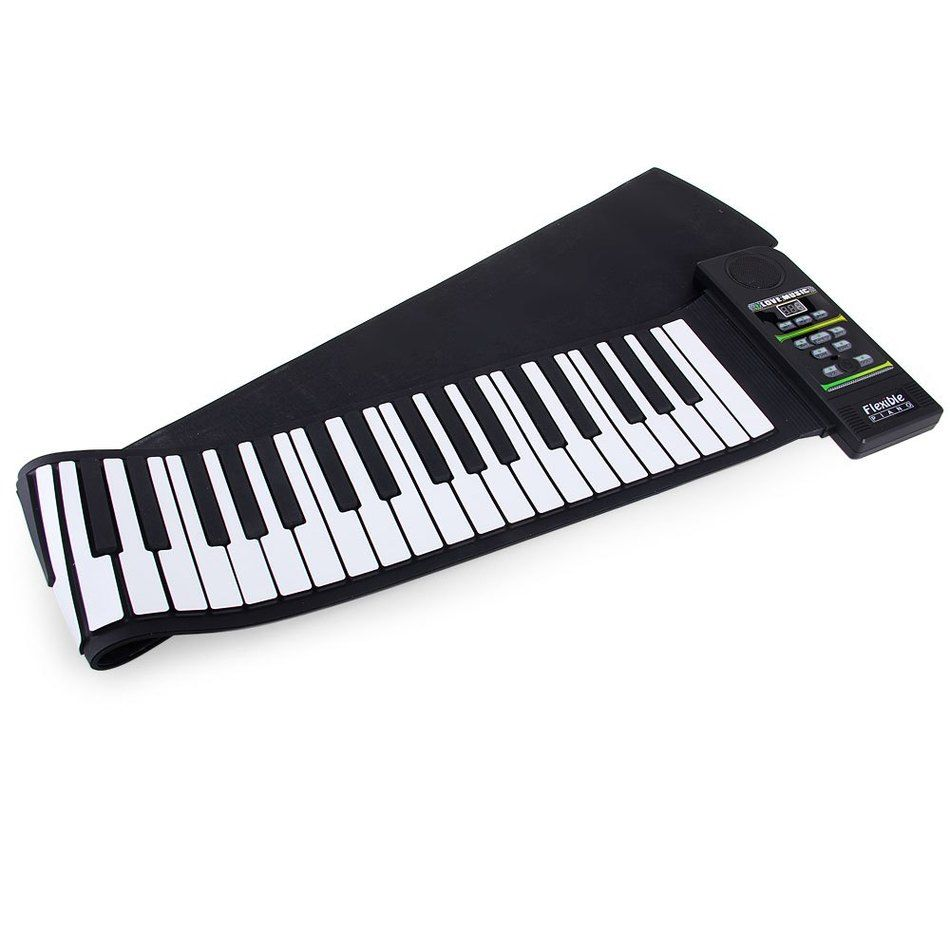 High Quality Midi Roll Up Tragbare Elektronische Flexible Falten Keyboard Klavier PN88S MIDI Piano Kit mit 88 Tasten-100-240 V