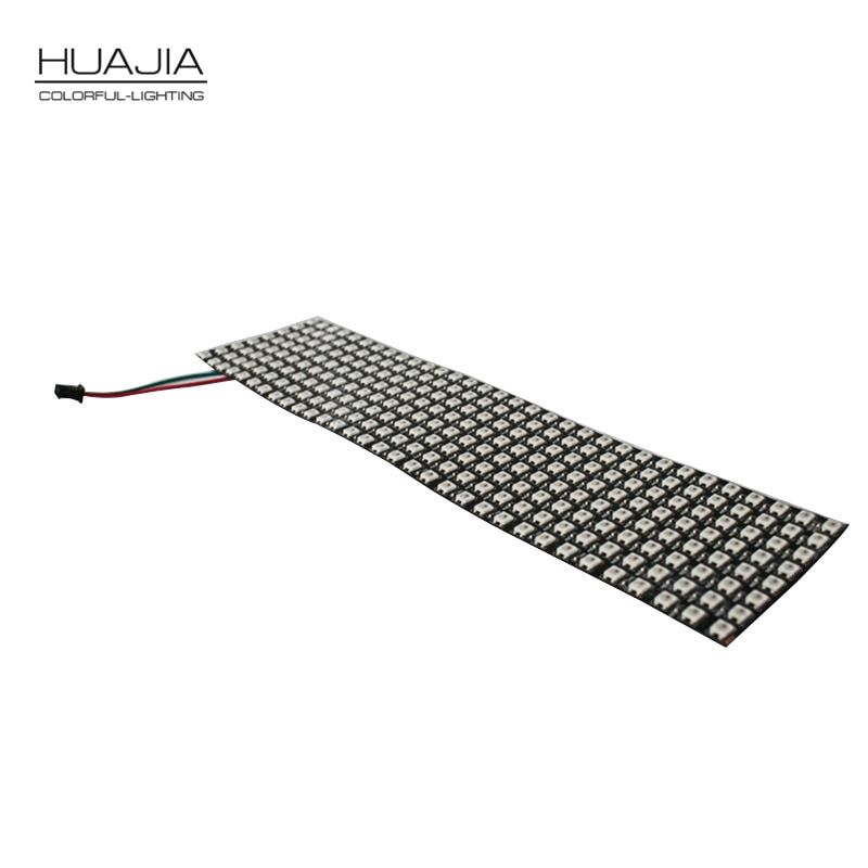 1PCS 8*32 Led Ws2812b 256 Pixels Display Led Matrix DC5V Full Color Smd5050 Rgb Screen Light Addressable Led Panel