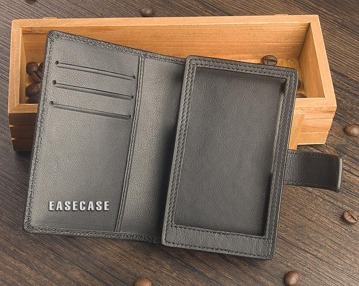 E4 Custom-Made Genuine Leather case for HIBY R6