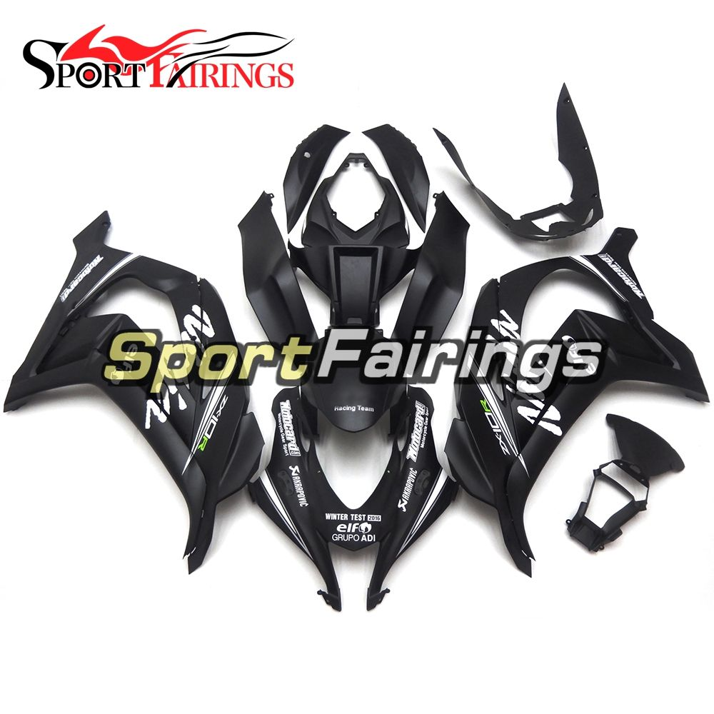 New Arrival Injection ABS Plastics Motorcycle Fairings For Kawasaki ZX10R 2016 ZX-10R 16 Year 2016 2017 Fairing Kits Black Matte