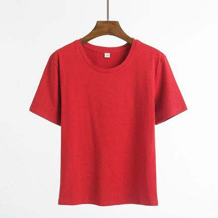 shirt short sleeves students' loose fitting bodysuit T shirt Casual Summer Cotton