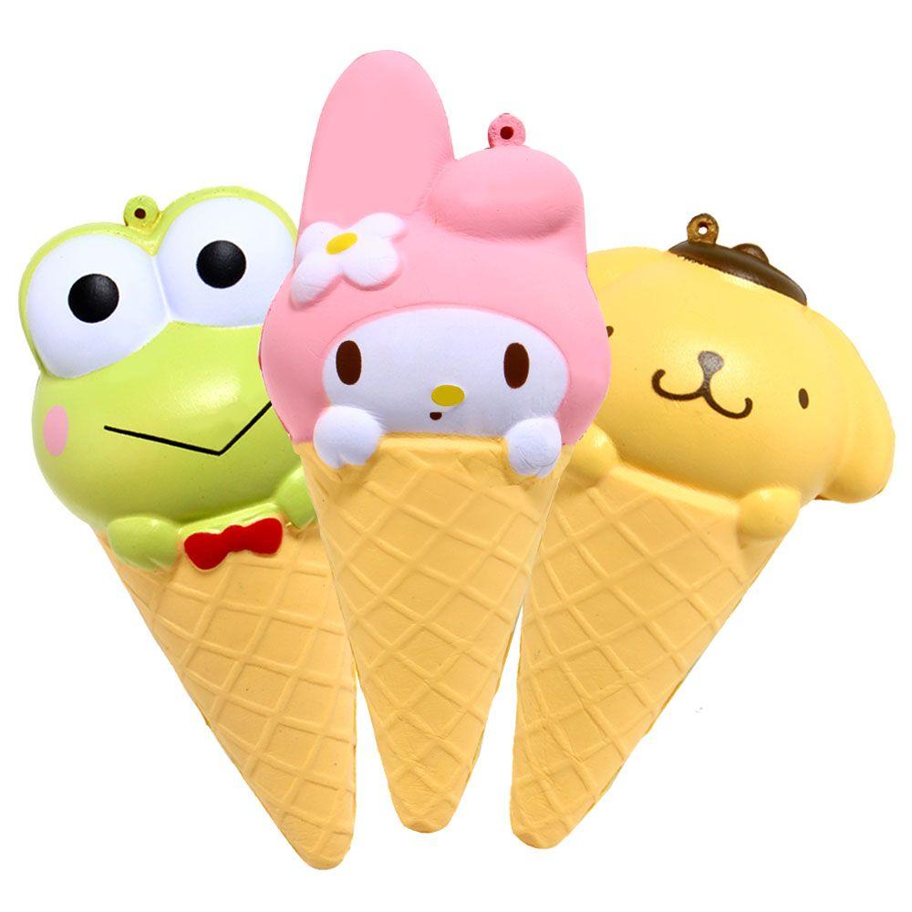 1PCS Jumbo Cute Cartoon Cone Squishy Kawaii Scented Slow Rising