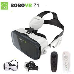 2017 XiaoZhai bobo vr z4  VR BOX 2 Virtual Reality 3D Glasses VR Headset earphone movie for Google cardboad Bluetooth Controller