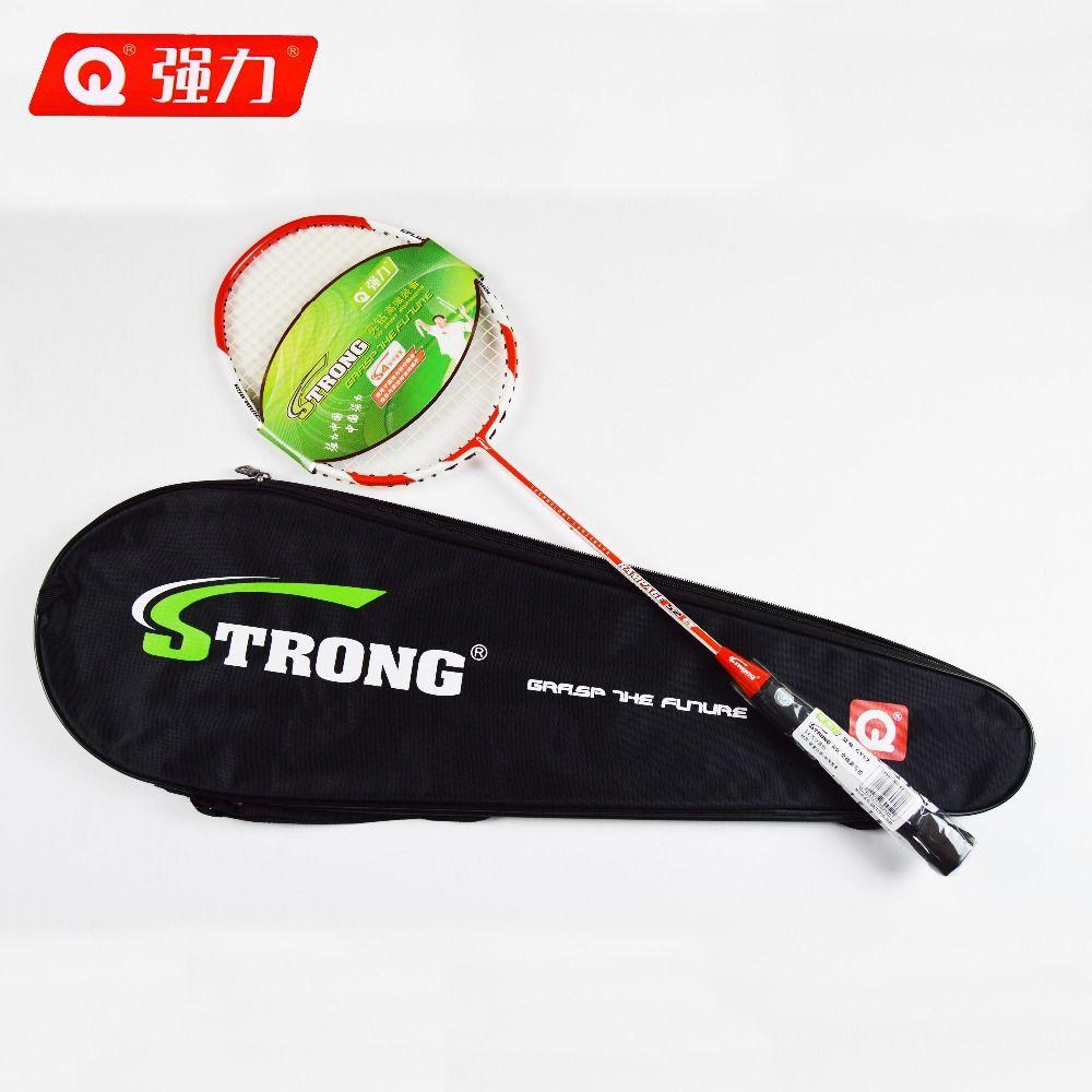 Authentische Qiangli CY52 nanotechnologie badminton schläger Offensive typ badminton badminton schläger Gegner nicht zu kämpfen zurück