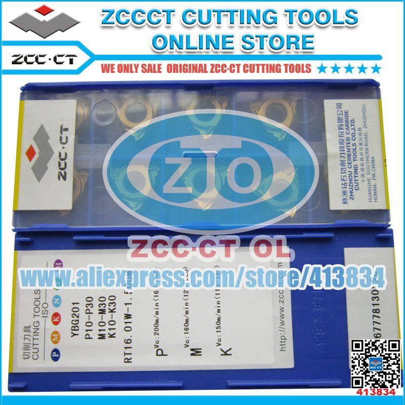 ZCC CT schneiden werkzeuge cnc drehen werkzeug threading einsätze 1 pack