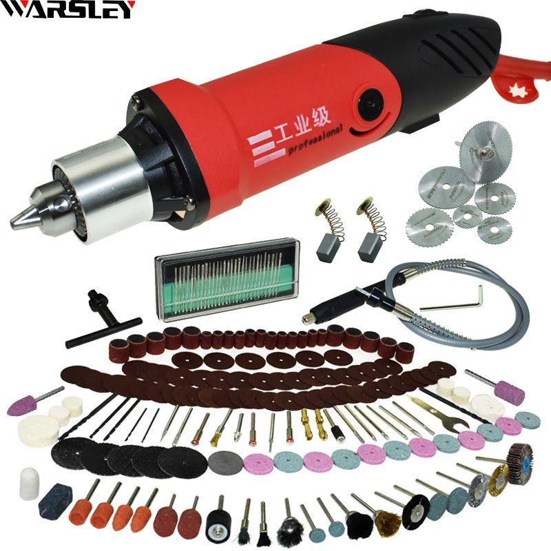 480 W graveur Dremel perceuse électrique gravure stylo broyeur Mini perceuse bricolage perceuse électrique outil rotatif Mini-moulin rectifieuse