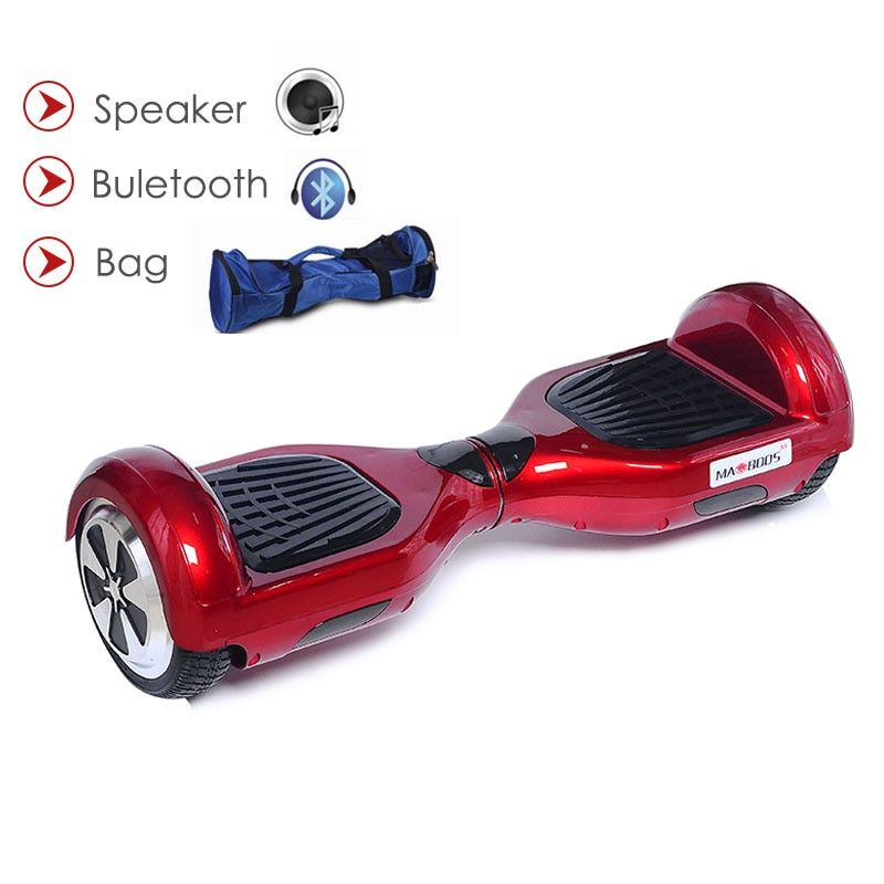 Hoverboard Self Balance Electric Scooters Two Wheel Electric Hoverboard With Bluetooth Speaker 6.5 Inch Skateboard Gyroscoot