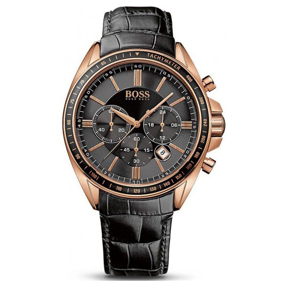 BOSS Germany watches men luxury brand Nurburgring multi-function Chronograph bracelet racing watch Leather belt manner sehen