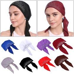 Mode Musulman Femmes Lady Intérieure Bouchon Hijab Islamique Underscarf Chapeaux Chapeaux Cadeau