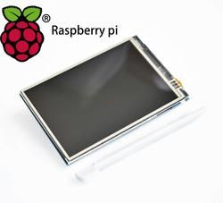 ! Modul LCD Pi TFT 3.5 Inci (320*480) Layar Sentuh Tampilan Modul TFT untuk Raspberry Pi 3
