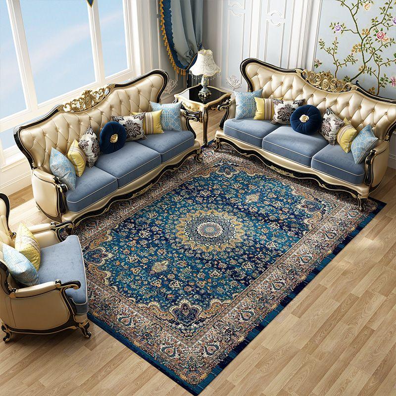 Imported Iran Persian Carpet Living Room Home Carpet Bedroom 100% Polypropylene Rug Sofa Coffee Table Floor Mat Study Area Rugs