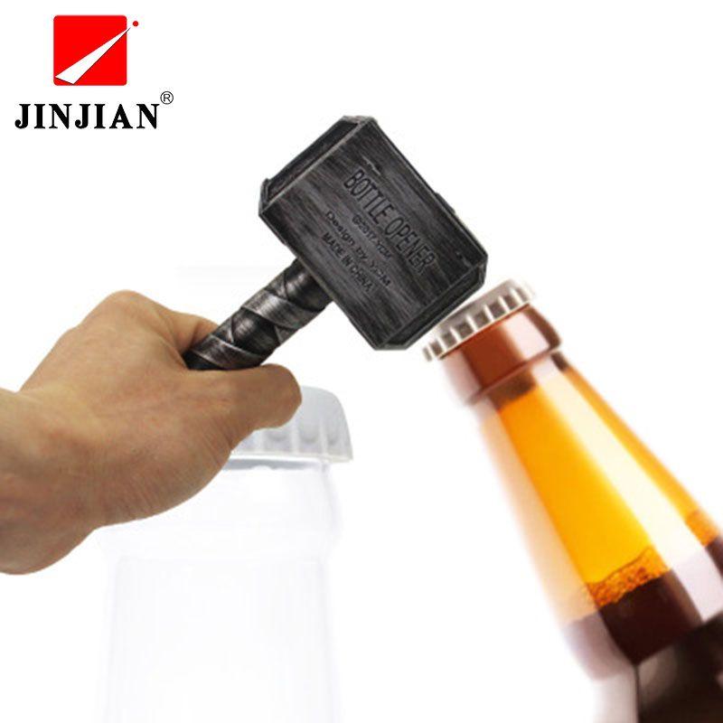 JINJIAN ouvre-bouteille de bière ouvre-bouteille En Forme de Marteau de Thor tire-bouchon à vins clé à boisson Pot Ouvre Pour Dîner Parti Bar