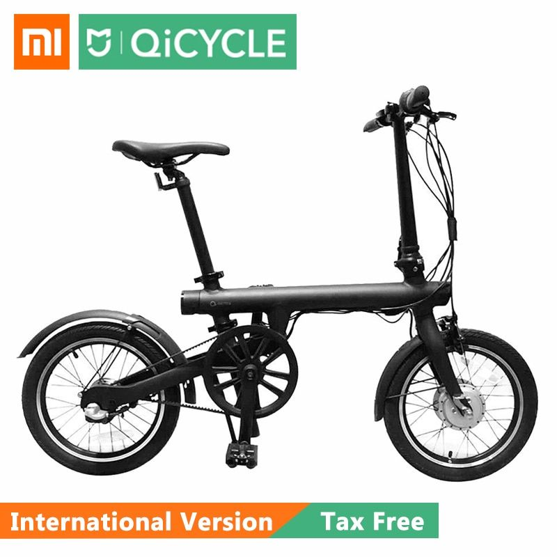 Xiaomi QiCYCLE EF1 Smart Fahrrad Waten Bike Drehmoment Sensor Moped Elektrische Bikes Aluminium Legierung Leichte Internationalen Ver