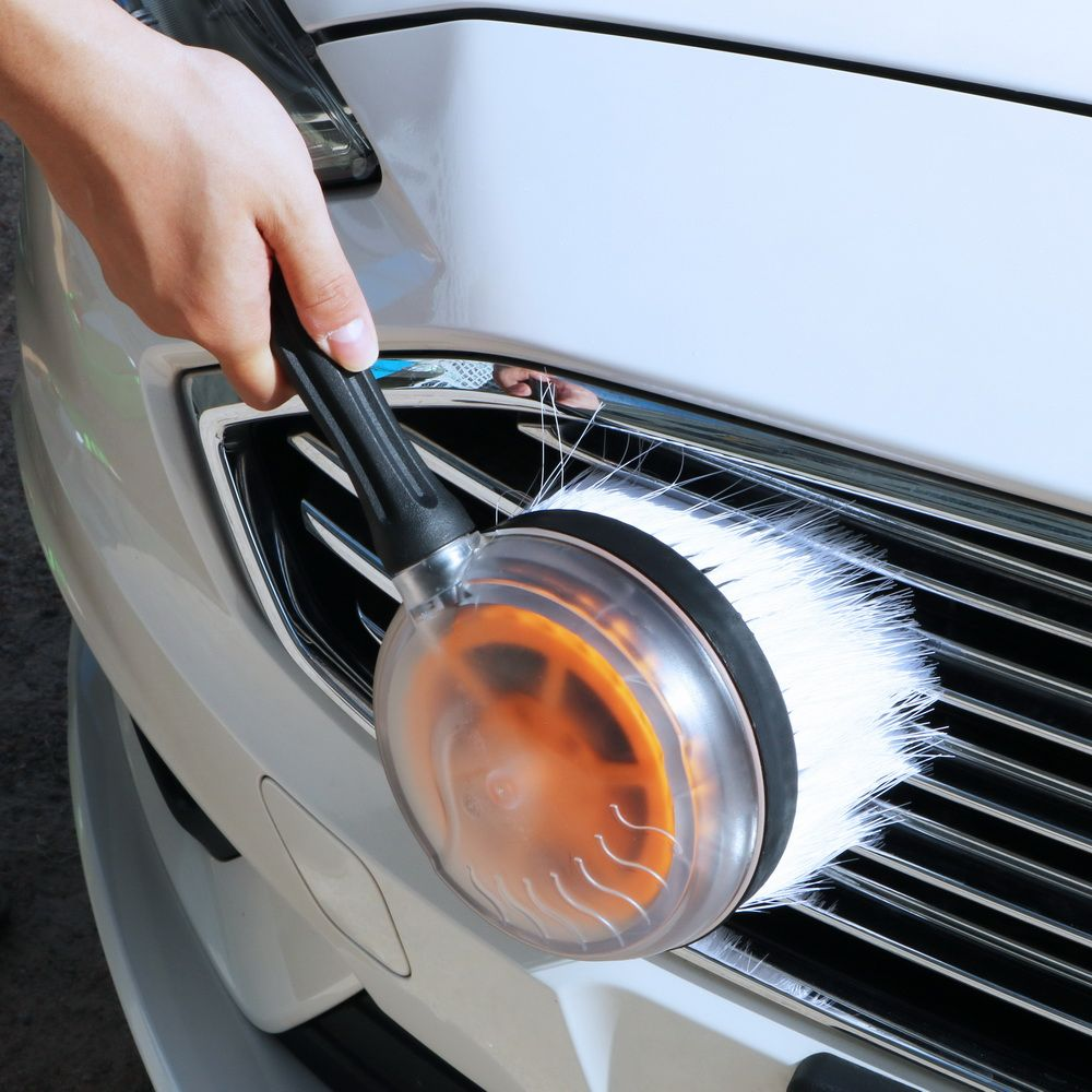 Car Washing Tool Car Wash Brush Auto Care Flow Automatic Rotate Brush Cleaning Accessory Car-Cleaning Auto Rotation