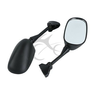Motorcycle Accessories A <font><b>pair</b></font> Black Rear View Mirror for HONDA VFR800 VFR 800 2002-2008 2007 2006 2005 800 V-TEC