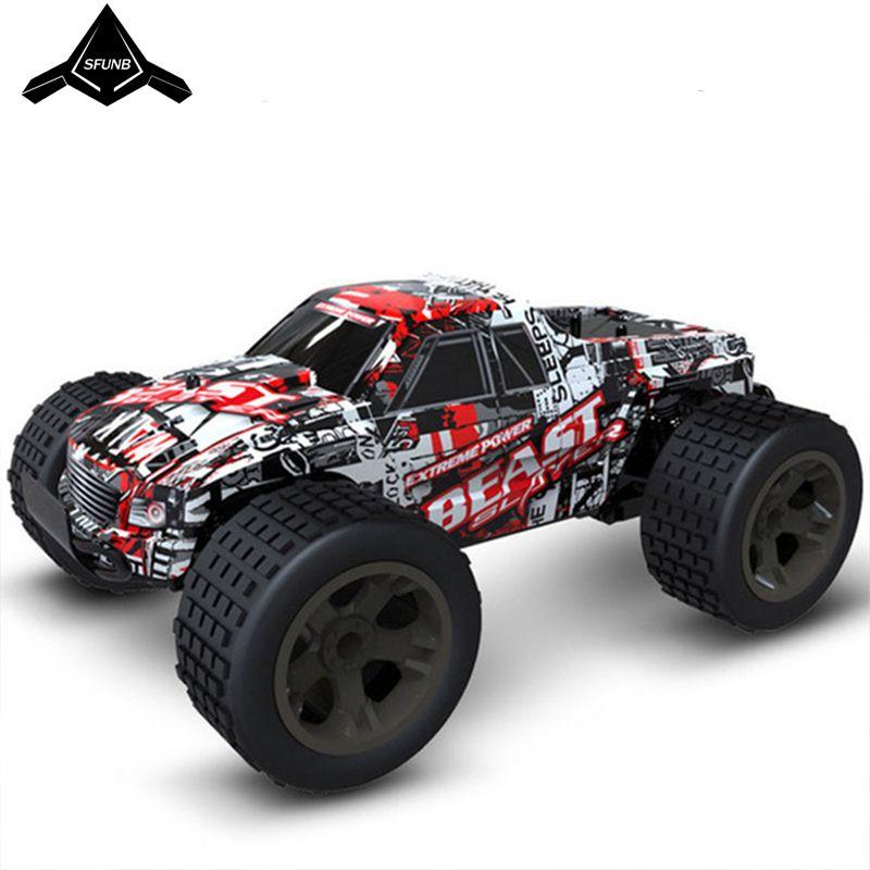 Voiture rc 2.4G 4CH rock voiture conduite voiture grande voiture télécommande modèle de voiture tout-terrain véhicule jouet wltoys rc voiture dérive