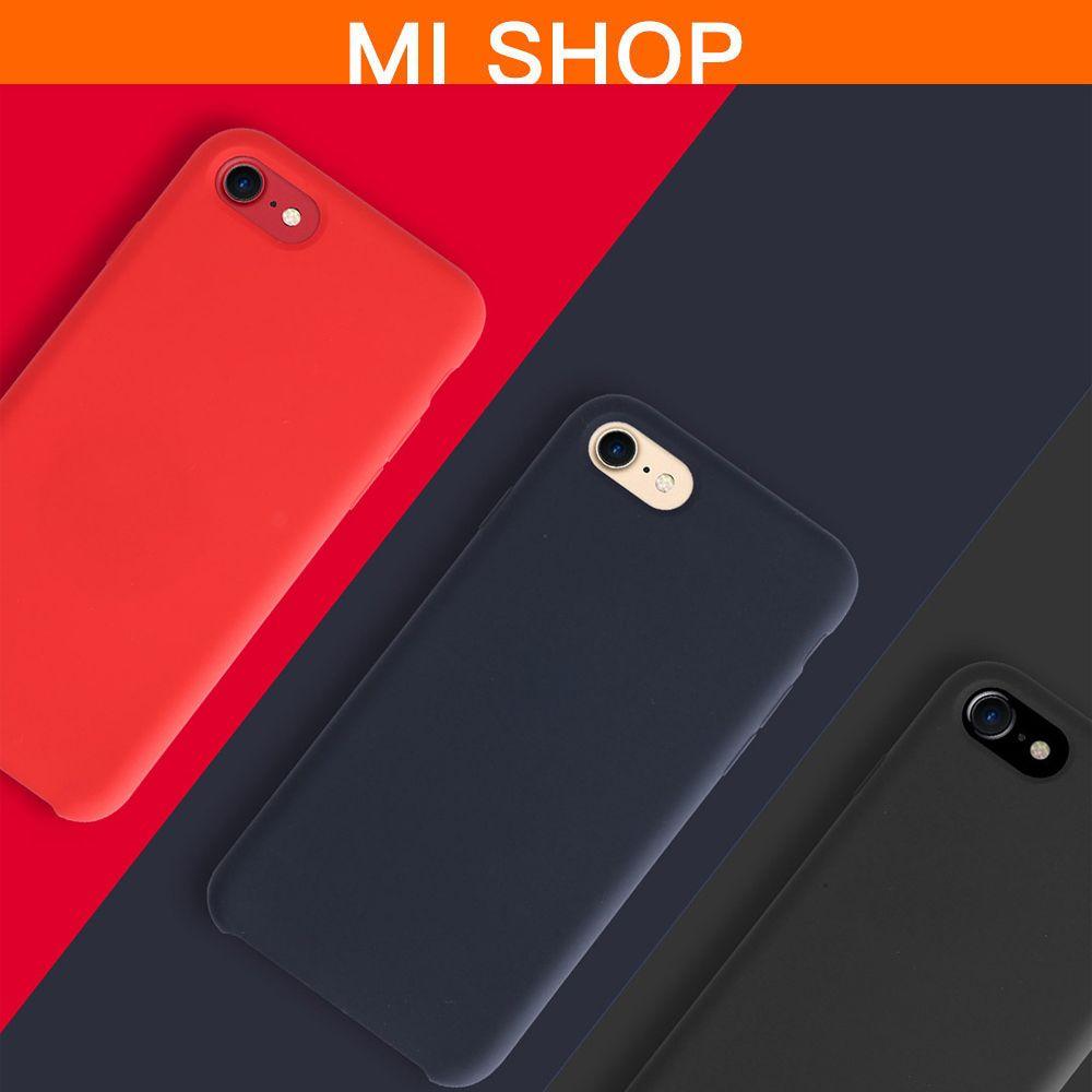 3colors Original Xiaomi Liquid Silicon Magnet Magnetic For IPhone 6/6s/7 Plus Case