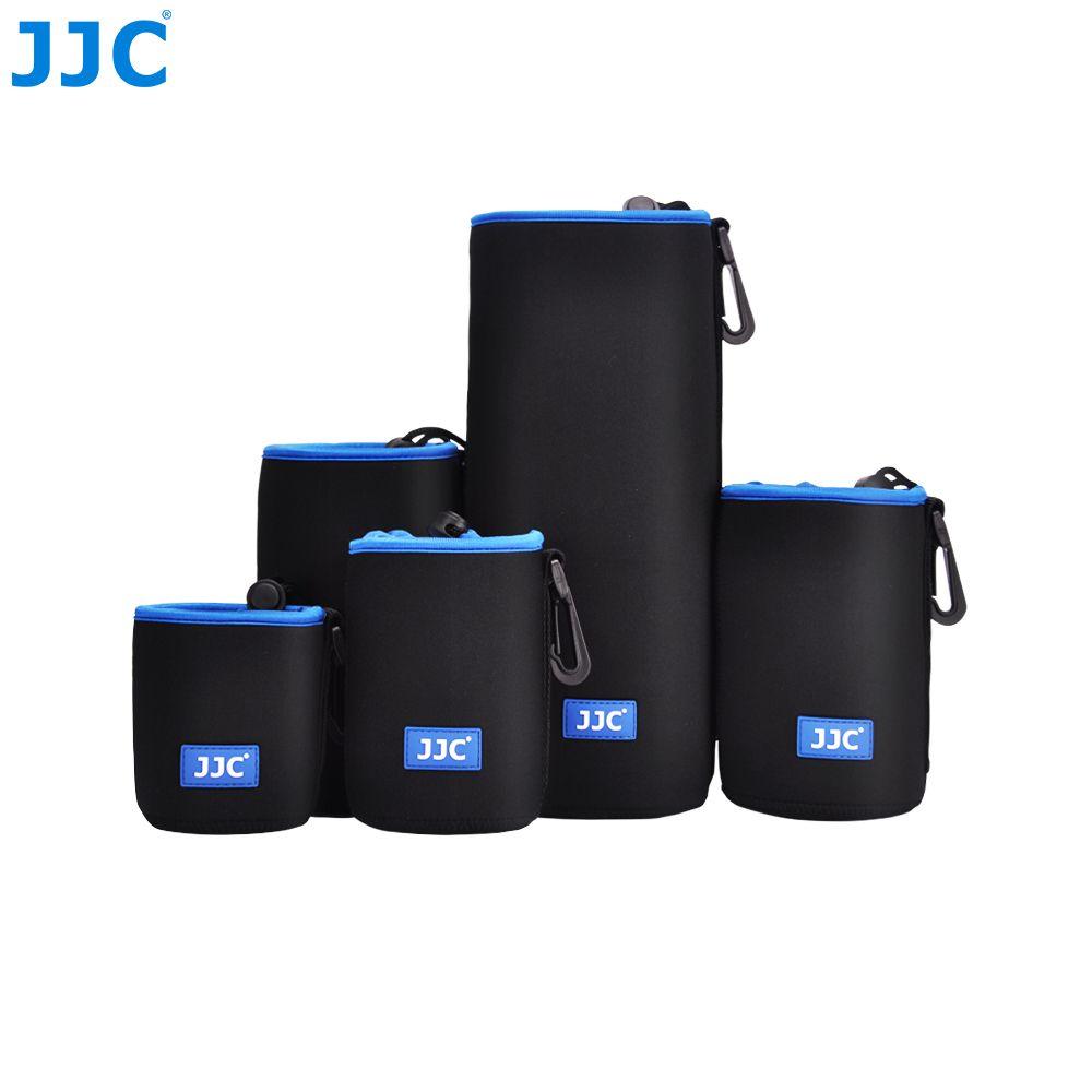 JJC Soft Lens Pouch Neoprene Camera Bag Photo SLR DSLR Case for Canon/Nikon/Olympus/Fujifilm/Sony/Pentax/Panasonic/Leica