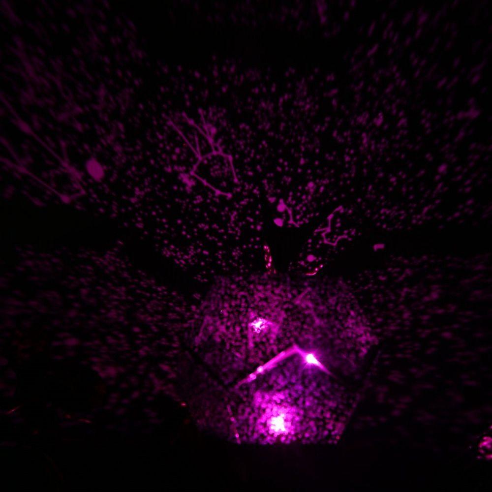 Offre Spéciale Romantique Céleste Astro Ciel Cosmos Étoiles Projecteur Assemblé/Pré-assemblé Étoilé Nuit Lumière De Noël Cadeau Drop Shipping