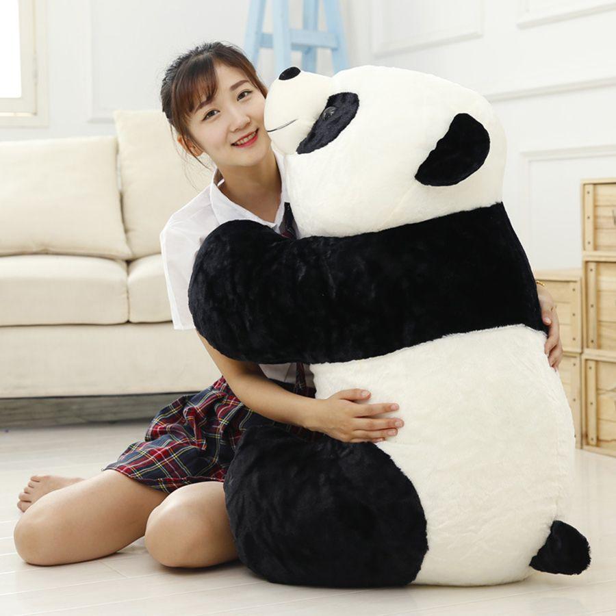 Cute Baby Big Giant Panda Bear Plush Stuffed Animal Doll Animals Toy Pillow Cartoon Kawaii Dolls Girls Gifts Knuffels 50T02724