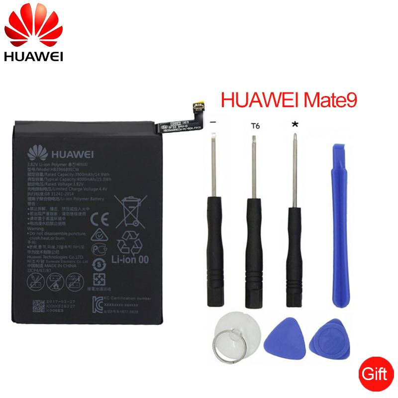 Hua Wei Replacement Phone Battery HB396689ECW For Huawei Mate 9 Mate9 4000mAh