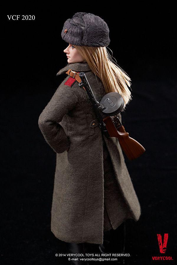 VCF2020 Female Soldier Soviet female Action Figure model