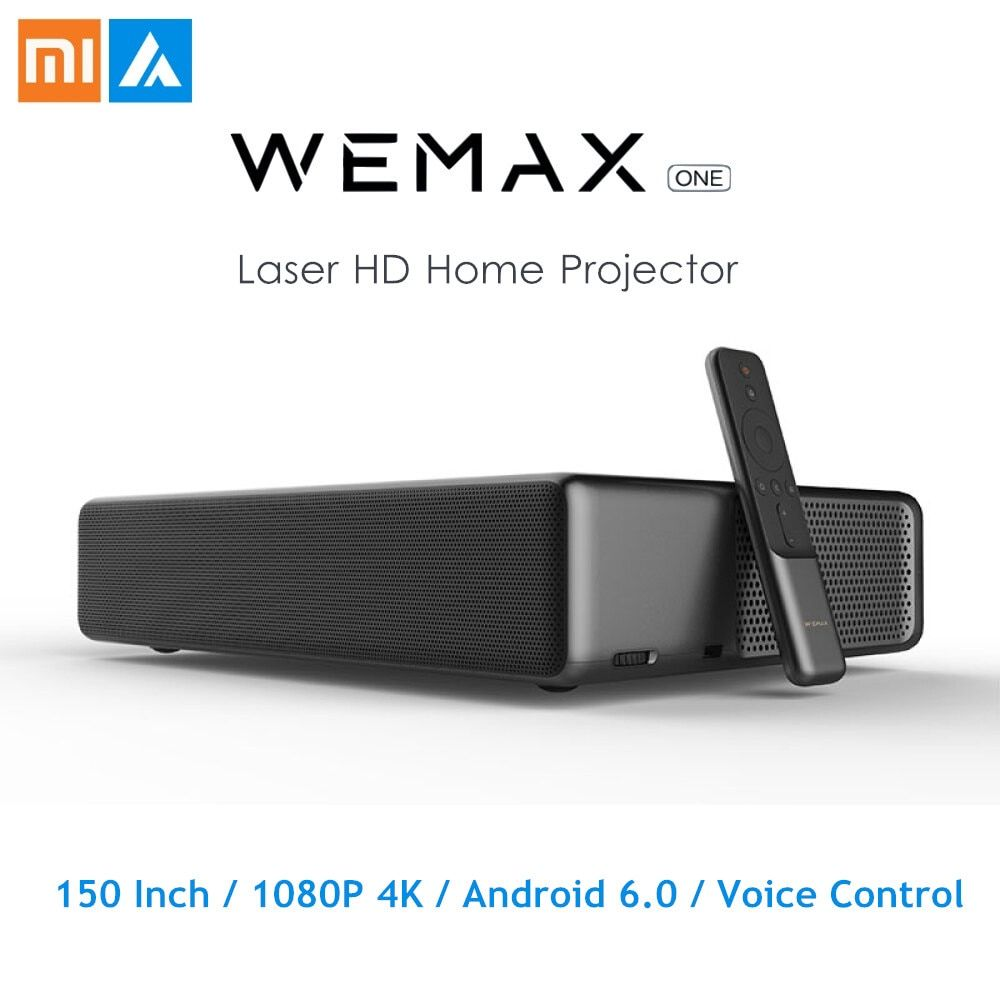 Original Xiaomi WEMAX ONE PRO Laser Projektor 7000/5000 Lumen 150 ''1080 P FHD 4 K Android 6.0 BT4.0 2,4/ 5 GHz WiFi Home Theater