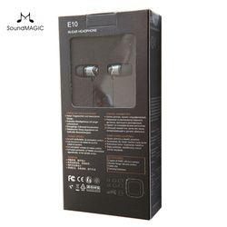 SoundMAGIC E10 Noise Isolating In-Ear Hifi Stereo Earphones 100% New & original Genuine Black, Red, Gold color
