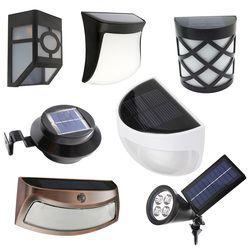 LED Solar Power Light Waterproof Led Sensor Solar Lamp Outdoor Light Path Roof Corridor Wall Lamp garden Lighting Pathway Fence
