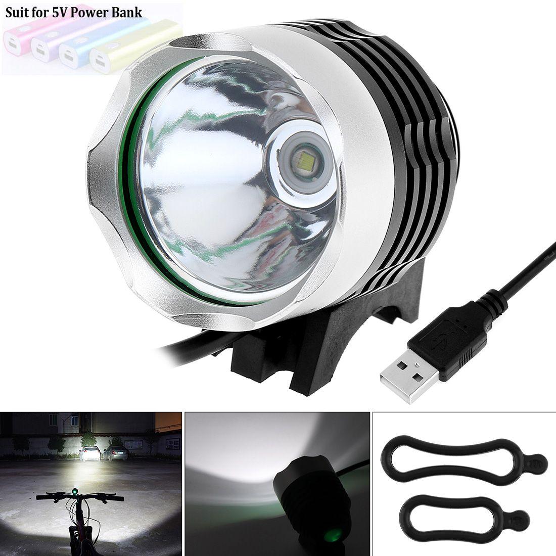 Securitying Vente 1200 Lumen XM-L T6 LED Vélo Lumière Vélo Lumière Pour Vélo Vélo Vélo Vélo Imperméable À L'eau Lumière Avant et USB