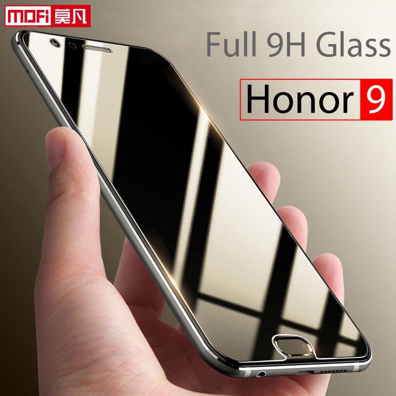 Huawei Honor 9 Verre Trempé Protecteur D'écran 2.5d Mofi Ultra clair Mince 9 H Pleine Couverture Protecteur D'écran Huawei Honor 9 verre