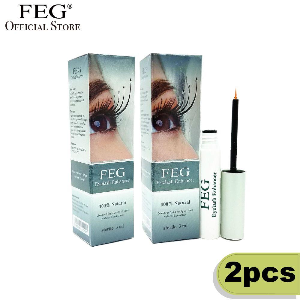 2pcs Original FEG Eyelash Enhancer 3ml Eyelash Growth Treatment FEG Official Store