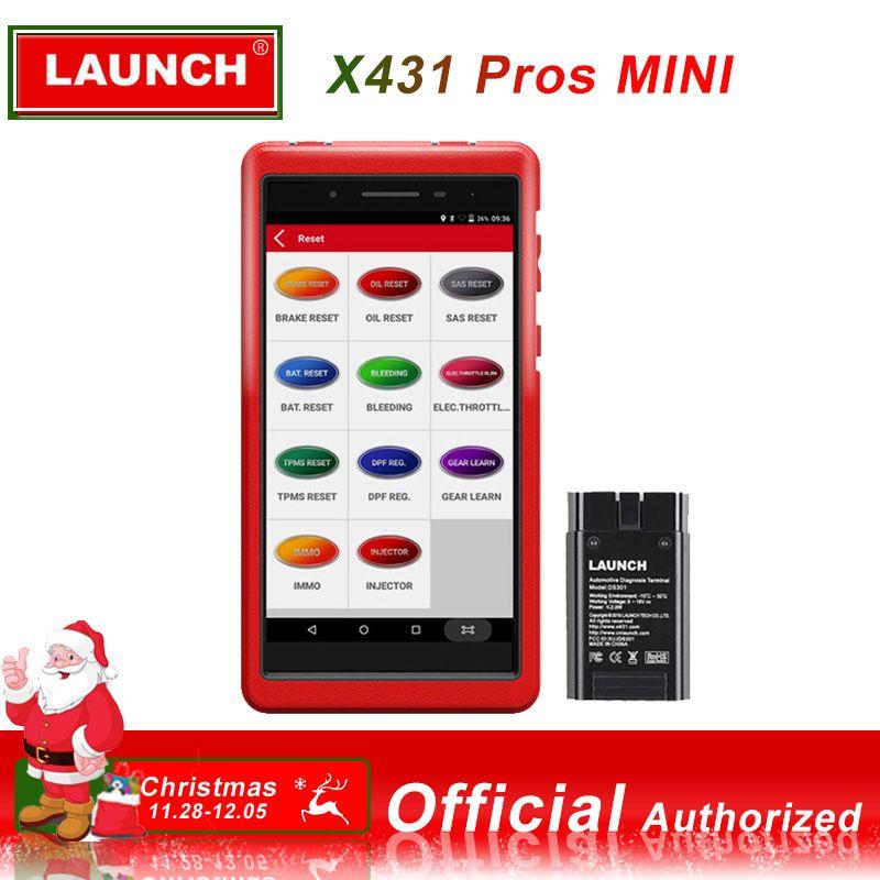 LAUNCH X431 PROS MINI Car Diagnostic scanner automotivo obd2 scanner Launch diagnostic tool launch x431 pro obd2 Bluetooth WIFI