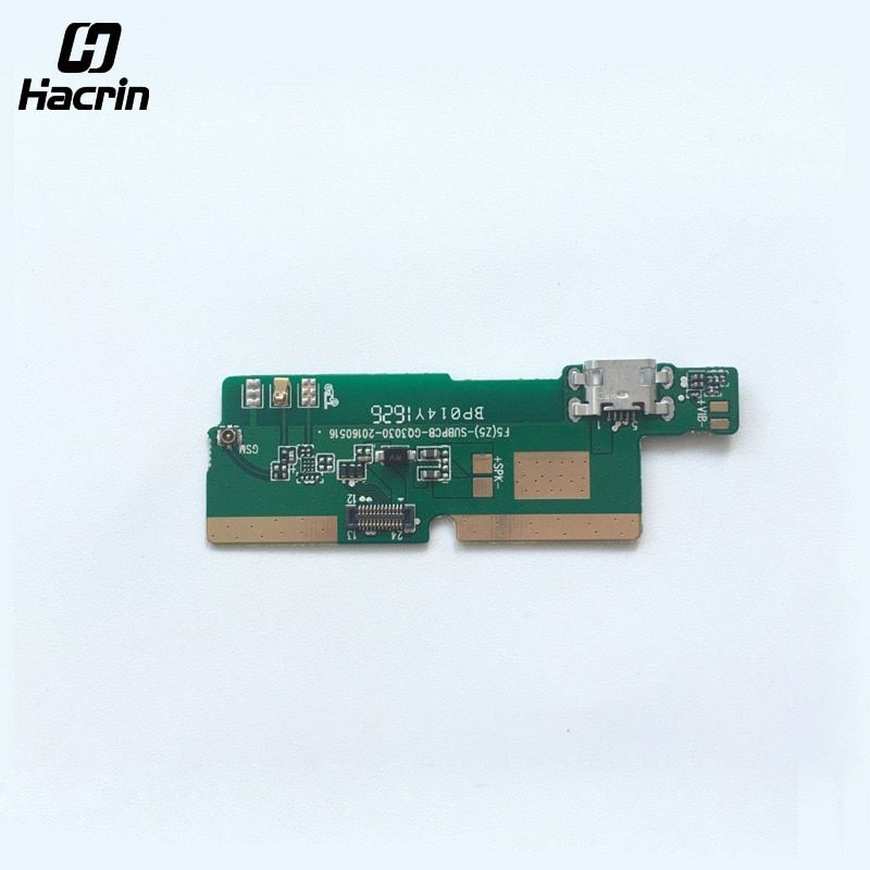 Hacrin Pour Ulefone Métal USB Conseil Avec Mic de Haute Qualité USB Chargeur Plug Conseil Pièces Remplacement Pour Ulefone Métal Smart téléphone